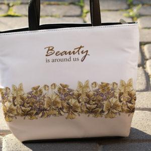 Растительный узор на сумке