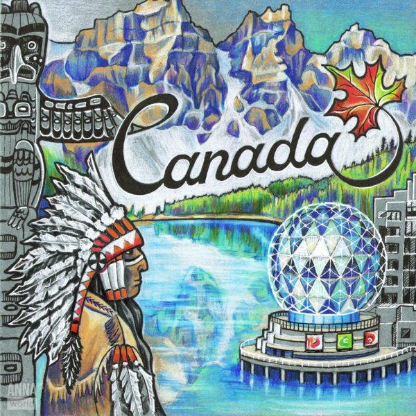 Иллюстрация Канада