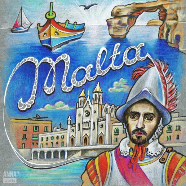 Иллюстрация Мальта
