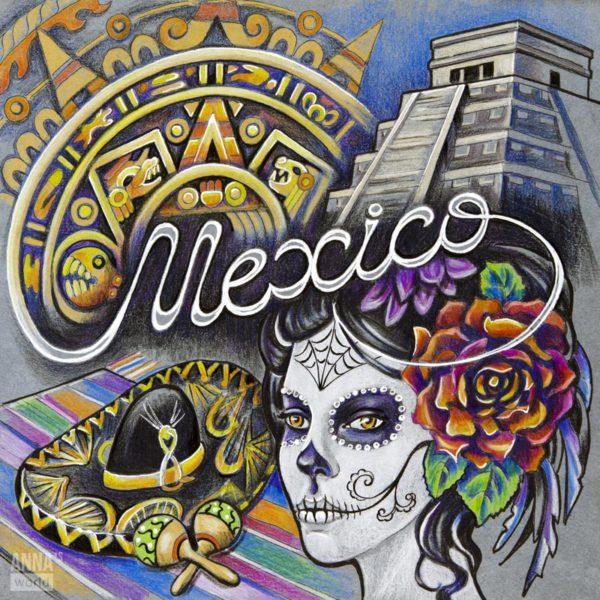 Иллюстрация Мексика