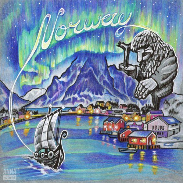 Иллюстрация Норвегия