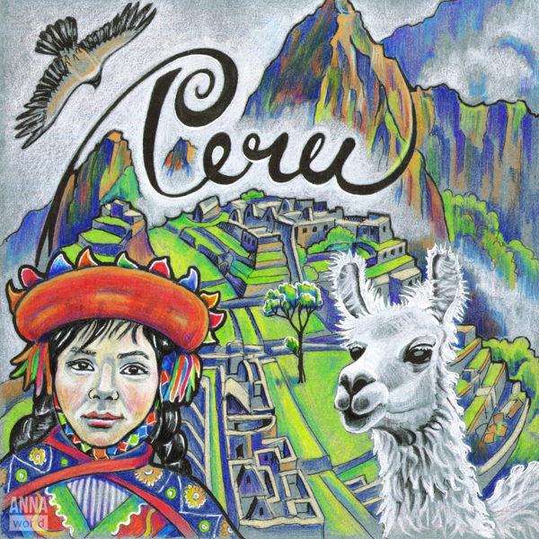Иллюстрация Перу