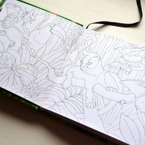 Создание иллюстрации маркерами