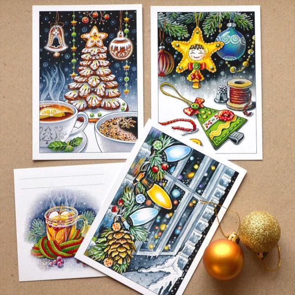 Авторские новогодние открытки