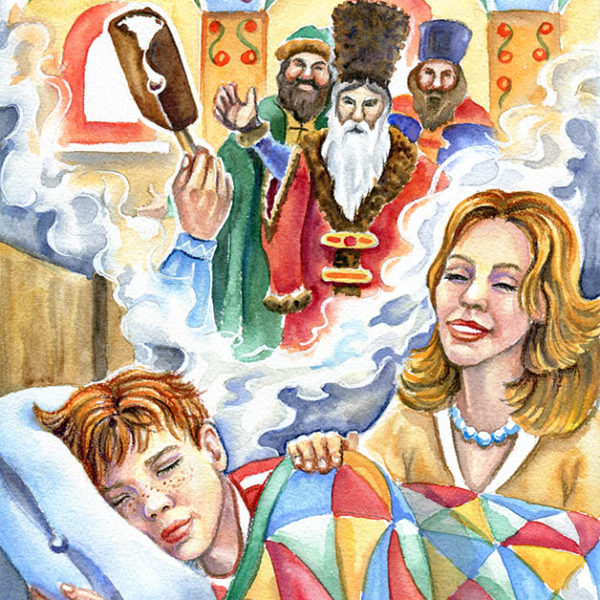 Иллюстрация для серии про Бубоньку Ильи Таранова