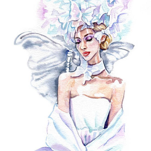 Фэшн иллюстрация - fashion illustration